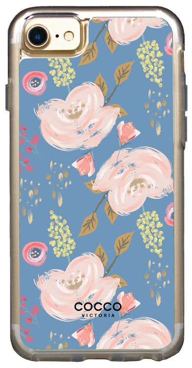 London Blue Bouquet Vogue Case - iPhone 7/6S/6 - coccovictoria.com