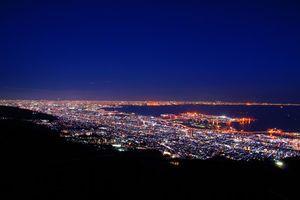 【兵庫県神戸市】摩耶山 掬星台 日本三大夜景
