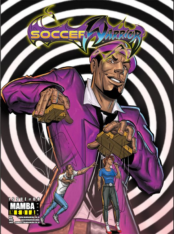 Soccer Warrior August issue cover