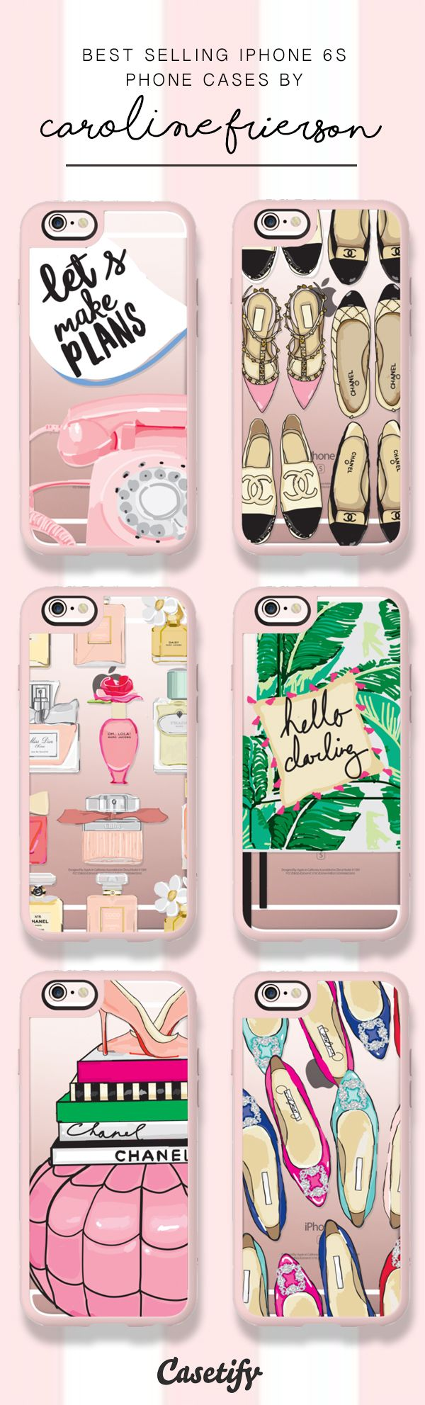 Check these best selling iPhone 6S and iPhone 7 cases by Caroline Frierson here >>> https://www.casetify.com/carolinefrierson/collection