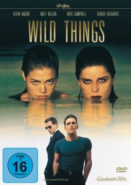 Wild Things  1998 USA      Jetzt bei Amazon Kaufen Jetzt als Blu-ray oder DVD bei Amazon.de bestellen  IMDB Rating 6,5 (61.757)  Darsteller: Kevin Bacon, Matt Dillon, Neve Campbell, Theresa Russell, Denise Richards,  Genre: Crime, Mystery, Thriller,  FSK: 16