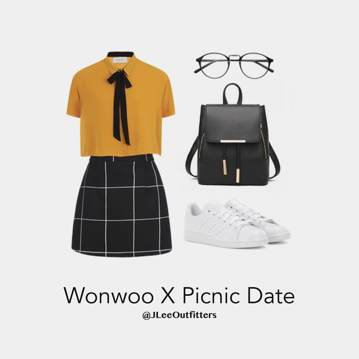Casual Picnic Date with Wonwoo - Seventeen Outfits