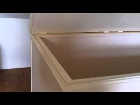 Elektrisch Zolderluik - YouTube