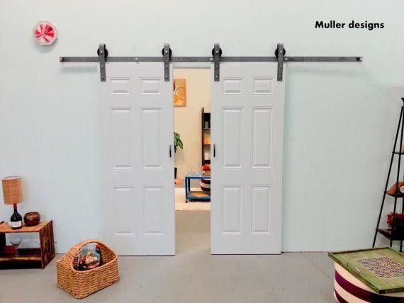 Raumteiler - Vintage Tür,Schiebetür,Schiebetürsystem,Raumteiler - ein Designerstück von Mueller-Designs-ES bei DaWanda