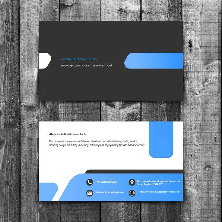 30 best Letterpress Business Cards images on Pinterest | Embossed ...