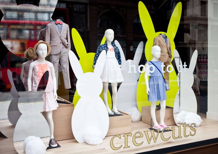 Hop to it with crewcuts at @J.Crew on #RegentStreet this #Easter.