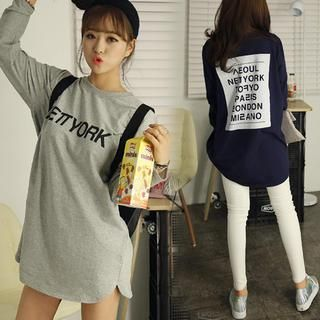 Buy 'HOTPING – Printed T-Shirt Dress' with Free International Shipping at YesStyle.com. Browse and shop for thousands of Asian fashion items from South Korea and more!