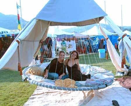 rocking motion of floating beds provides vestibular motion