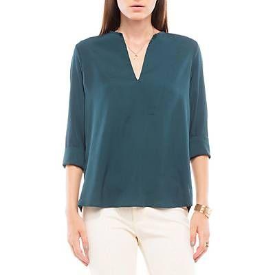 Me gustó este producto Basement Blusa Cuello V Verde. ¡Lo quiero!