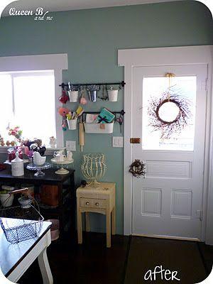 247 best paint colors images on pinterest house colors for Blue gray paint for kitchen