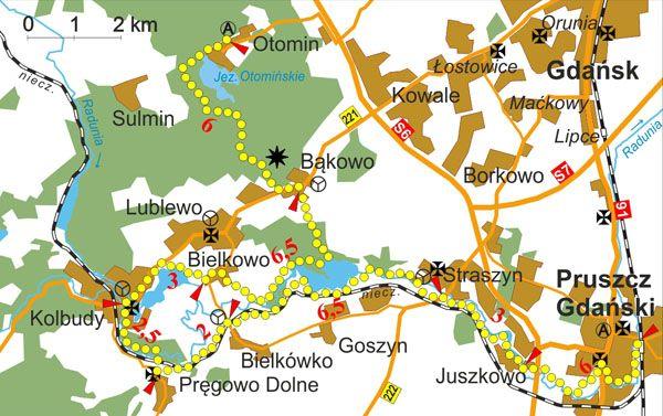 PTTK - Znakowane Szlaki Turystyczne Województwa Pomorskiego - Start