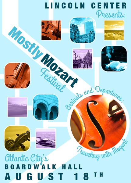 """""""Mostly Mozart Poster"""" by Madlyn McQ"""
