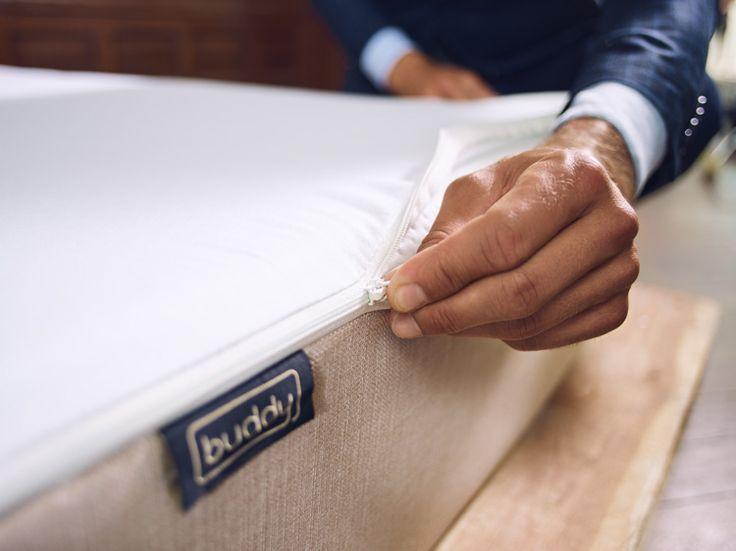 Das Easy Zip Bettlaken Lässt Sich In Wenigen Sekunden Auf Der Buddy Matratze  Befestigen. Keine