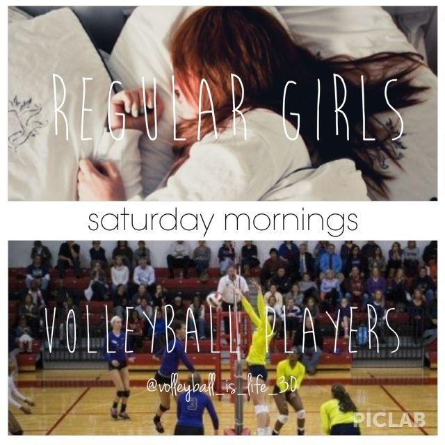 Volleyball girls!