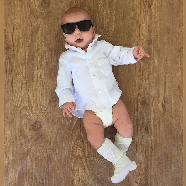 This Baby Has Better Halloween Costumes Than You via Brit + Co.  So cute!