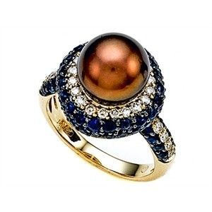 1508 best Pearl ring design ideas images on Pinterest | Pearl ring ...