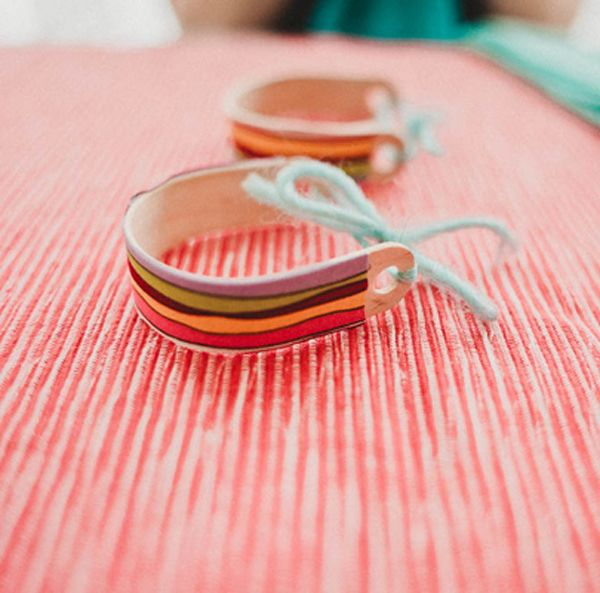 DIY painted Popsicle stick napkin holders