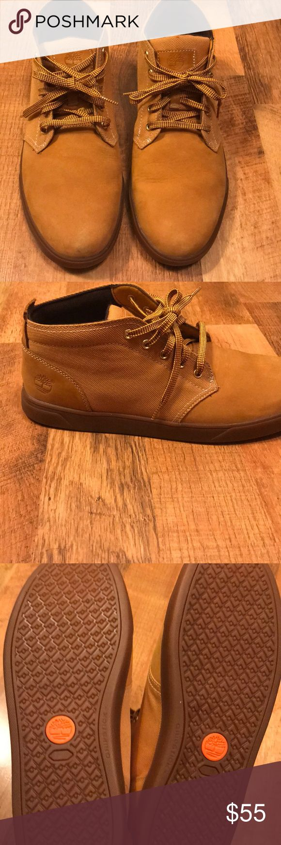 Timberland chukka sneakers Selling these never before worn timberland chukka sneakers bottom of the shoes can tell that they have never been work before everything in tack original shoe laces. Timberland Shoes Sneakers