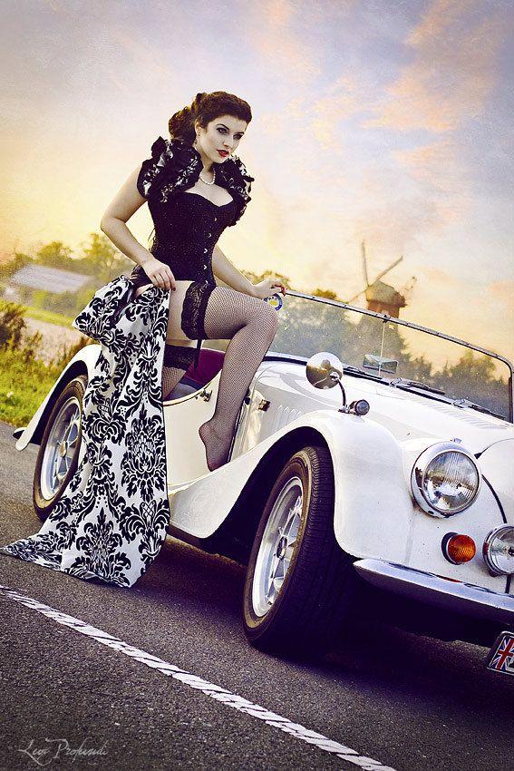 Madame La Shay  SALOON GIRL   Long Burlesque  by GothicBurlesque, $90.00