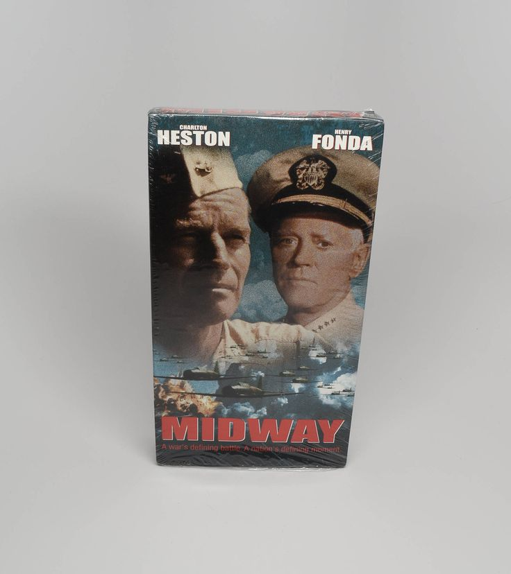 Midway Movie ~ Brand New Never Opened VHS Movies ~ Midway ~ Charlton Heston Movies ~ Henry Fonda Movies ~ War Movie ~ Battle of Midway ~ VHS by REDSTONEVINTAGE on Etsy