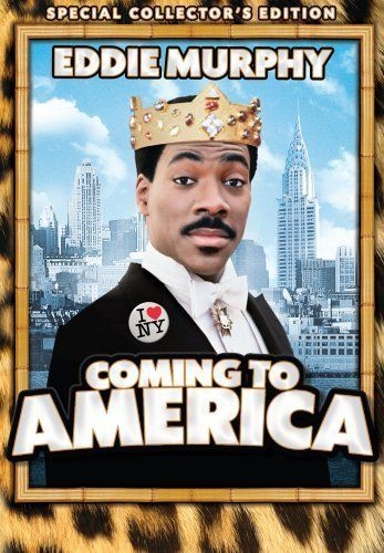 Directed by John Landis.  With Eddie Murphy, Arsenio Hall, James Earl Jones, John Amos. An African prince goes to Queens, New York City to find a wife whom he can respect for her intelligence and will.