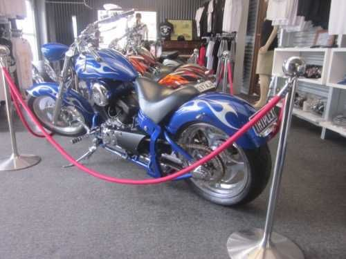 Rhino Hunter Soft tail sports frame...250cc...5 speed gear box.... Electric Blue with silver detail...Year 2011.... SA registration.....  Inspection Welcome Johnny Chop Adelaide 118 Lacey Drive Aldinga Beach SA 5173 08 71232611  PLEASE NOTE THERE IS A SURCHARGE FOR PAYMENTS MADE VIA CREDIT CARD $11,999.00 AUD
