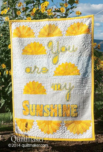 You Are My Sunshine Quilt Pattern Download Dresden Quilt