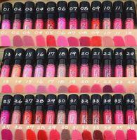 12pcs / lot lápiz labial mate 36 colores terciopelo colores brillo de labios a prueba de agua de alta calidad con descuento grande