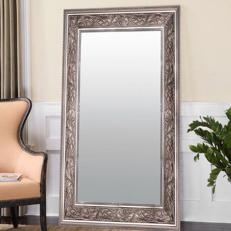 Espejo de Pared 75x185 Plata grabado #MadesaMéxico