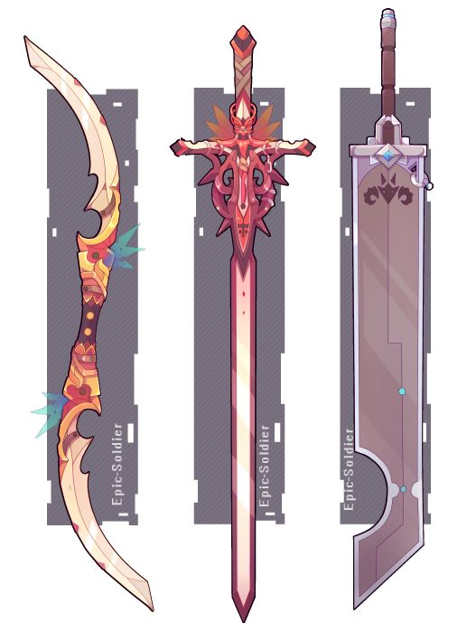 Weapon commission 57 by Epic-Soldier.deviantart.com on @DeviantArt