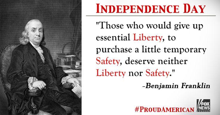 Benjamim Franklin, #ProudAmerican #FoxNews