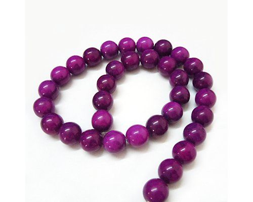 Přírodní minerál fialový - kulička 4 - NÁVLEK