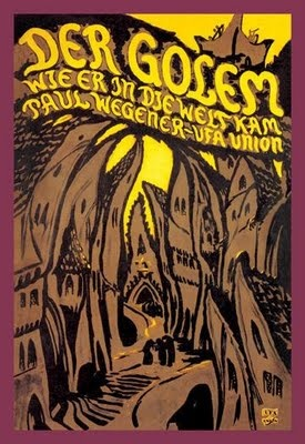 The Golem is an old Jewish legend; a sort of fairy tale about an old wizard who brings to life a man made of clay to protect the children of Prague.  This movie captures the creepiness of a medieval ghetto.