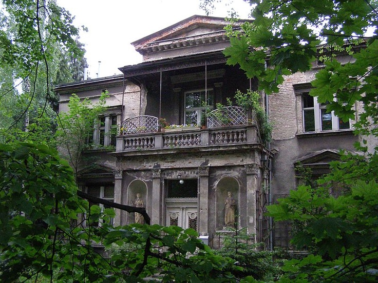 WILLA J.J. Bergera SOPOT, Poland. This is the house accross from our home.