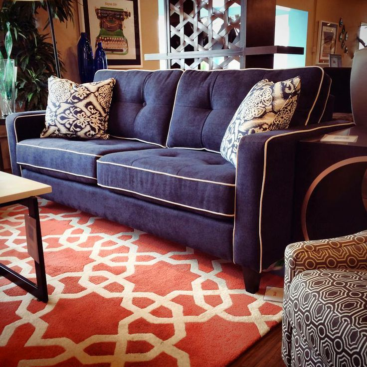 17 Best Images About Navy Sofa Decor On Pinterest