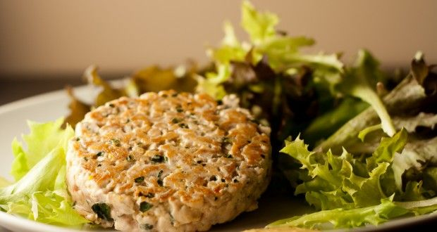 Hamburger di tonno con zenzero e menta - AromiFragolosi