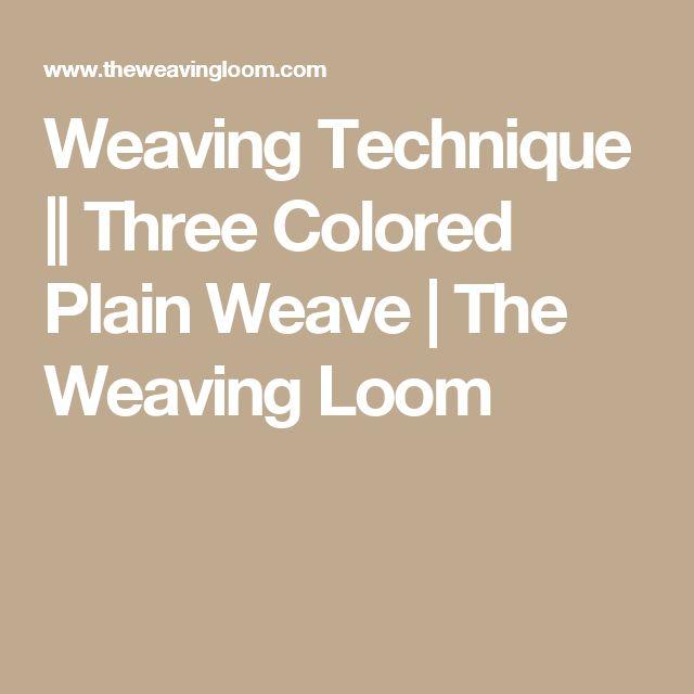11 mejores imágenes de weaving en Pinterest | Tejer, Tapicería y ...