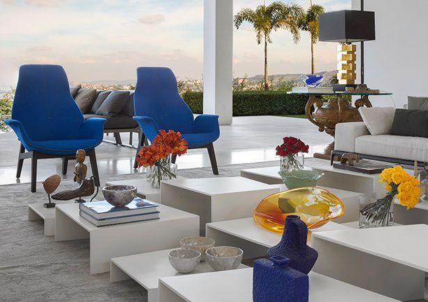 Living Room Vignettes
