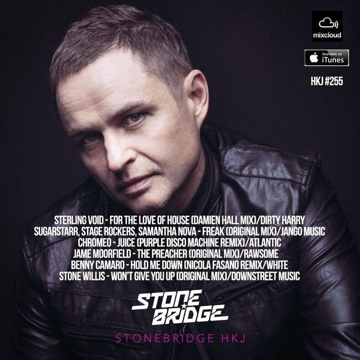 StoneBridge HKJ #255 The Funk Is Real Edition including an awesome new Sterling Void track mixed by the one and only Damien Hall https://www.mixcloud.com/stonebridge/255-stonebridge-hkj - check it out! #stonebridge #hkj #sexy #funky #house
