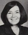 "Roseanne Barr's Junior photo in the 1970  ""Eastonian"" yearbook East High School in Salt Lake City, Utah."