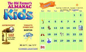 11 Free Science Websites for Kids - The Farmer's Almanac for Kids - Really Good Stuff