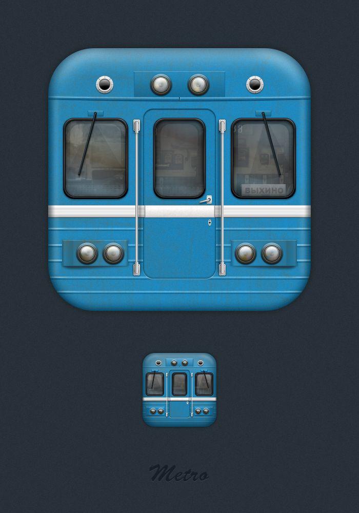 Metro для iOS, Icons © АртурКасимов