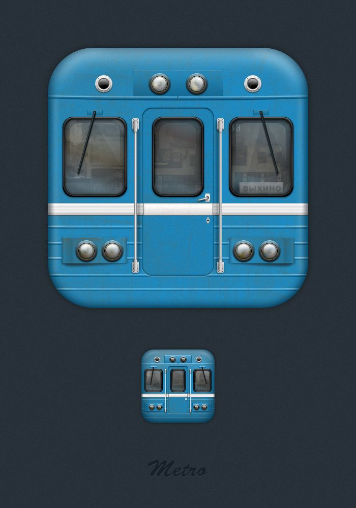 Dribbble - Metro_iphone_final.jpg by Artur Kasimov