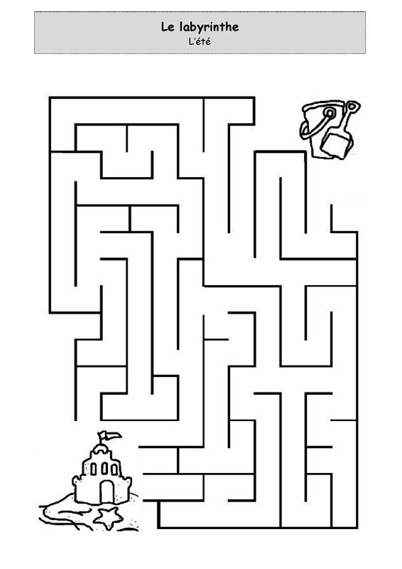 L'été - Le labyrinthe