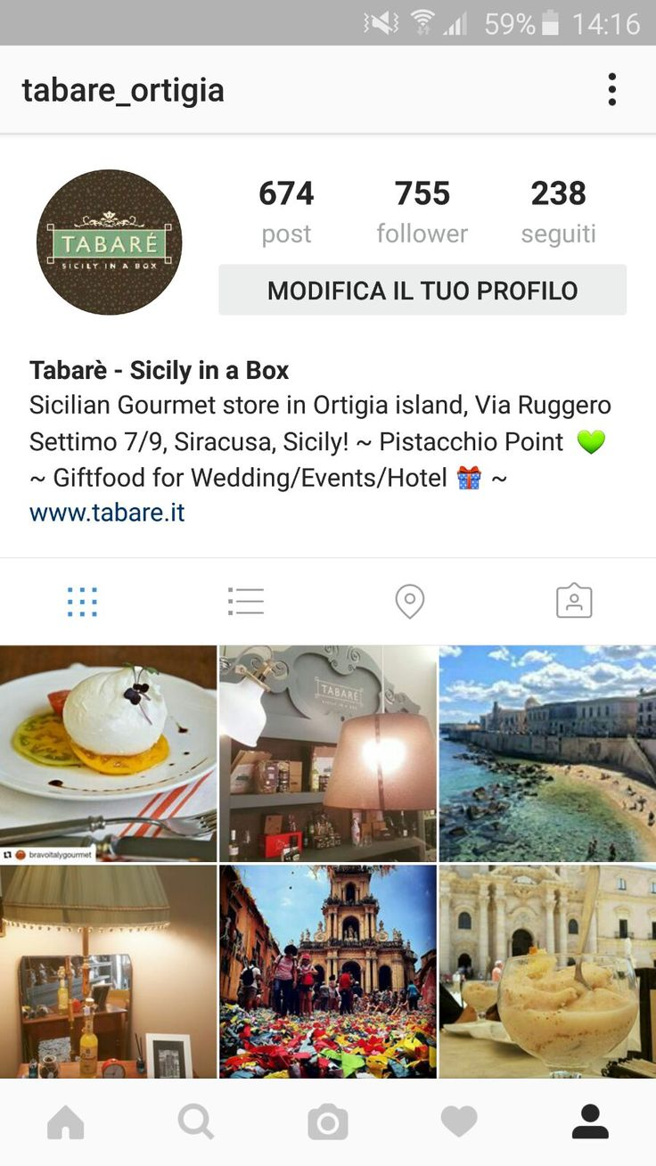 Discover our manufacturing Company of Sicilian Artisan Food: Tabarè - Sicily in a Box, located in Syracuse, Sicily.   Follow us on Instagram and you will find lots of yummy and Gourmet products, especially Pistachio spreadable Cream.   Only Fine and Top Quality Food! https://www.instagram.com/tabare_ortigia/ #tabare #food #gourmet #sicily #sicilian #siciliancuisine #siiclianfood #artisan #homemade #yummy #creams #sauces