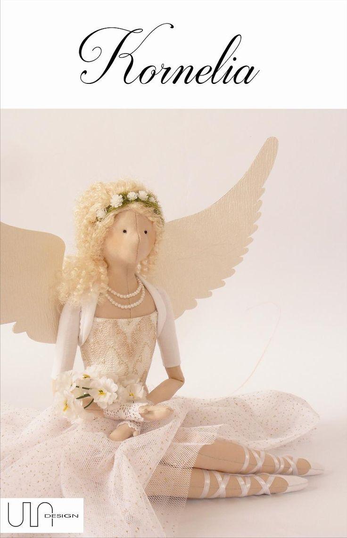 кукла интерьернаякукла тильда выкройка интерьернаяигрушка коллекционнаякукла текстильнаякукла ручнаяработа мастеркласс хобби рукоделие творчество Angel ULAdesign