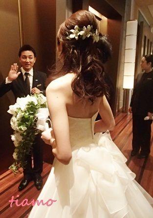 美人花嫁さまの洋装&和装スタイル♡素敵な一日  大人可愛いブライダルヘアメイク『tiamo』の結婚カタログ