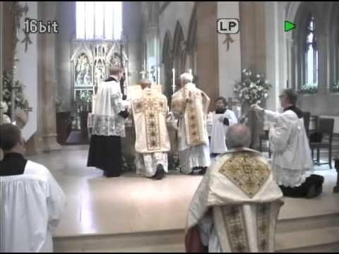 Belmont Abbey 01/05/2014 Solemn Mass. Feast of St Joseph the Worker - YouTube
