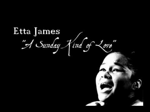 """I could listen to Etta James forever... Amazing !!     """"A Sunday Kind Of Love"""" - Etta James"""