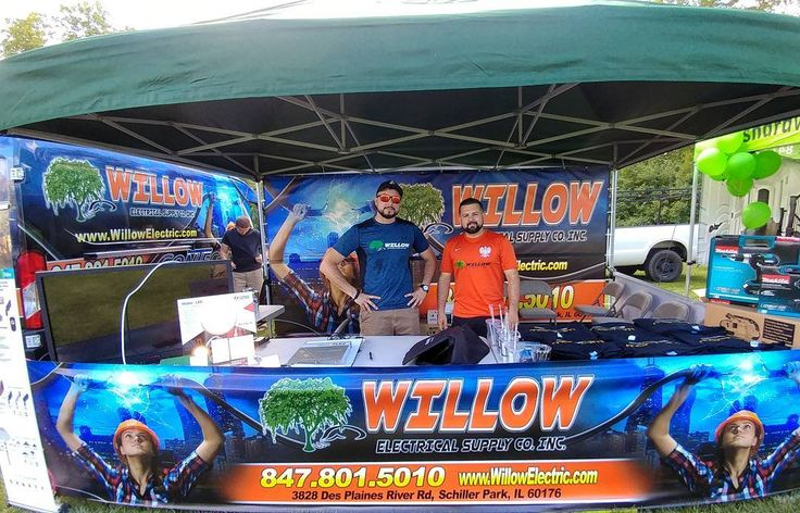 The Willow Team Proudly represented at Yorkville IL picnic.  #lighting #Chicago #WillowElectric #pna #Yorkville #lights #lightingfixture #picnic weekend #Sunday #pic #instapic #Polonia #work # Instagram #chicagoelectricalsupply #community #care #pride #designer #interiors #photo #team #promote #inbound #contechlighting